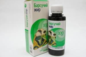 Барсучий жир от кашля для детей - способ применения при бронхите, как принимать детям, лечебные свойства при растирании