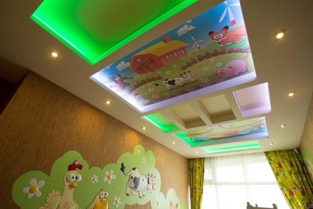 Дизайн гипсокартонных потолков, советы от экспертов