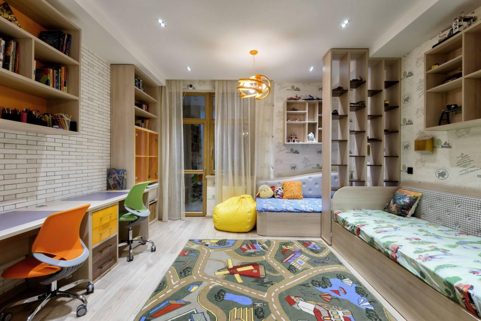 Дизайн комнаты для двух мальчиков. что уместно в комнате?