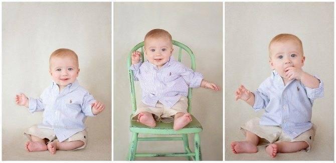 Когда можно сажать девочку, когда можно начинать сажать девочку полусидя на стульчике или в коляске