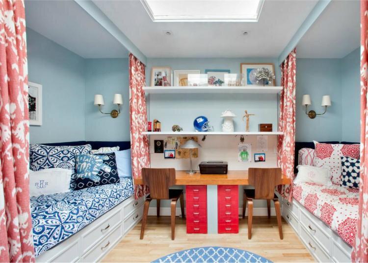 Дизайн детской комнаты для разнополых детей — лучшие фото идеи интерьера