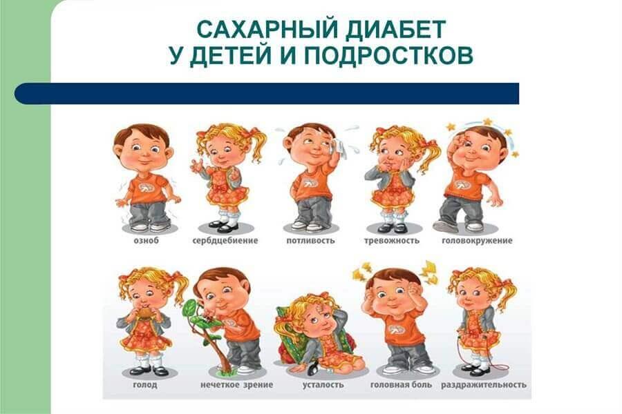 Лечение и признаки сахарного диабета у детей