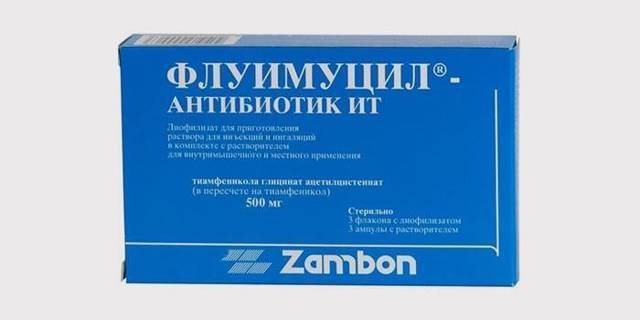 Флуимуцил-антибиотик ит: применение для ингаляций. отзывы