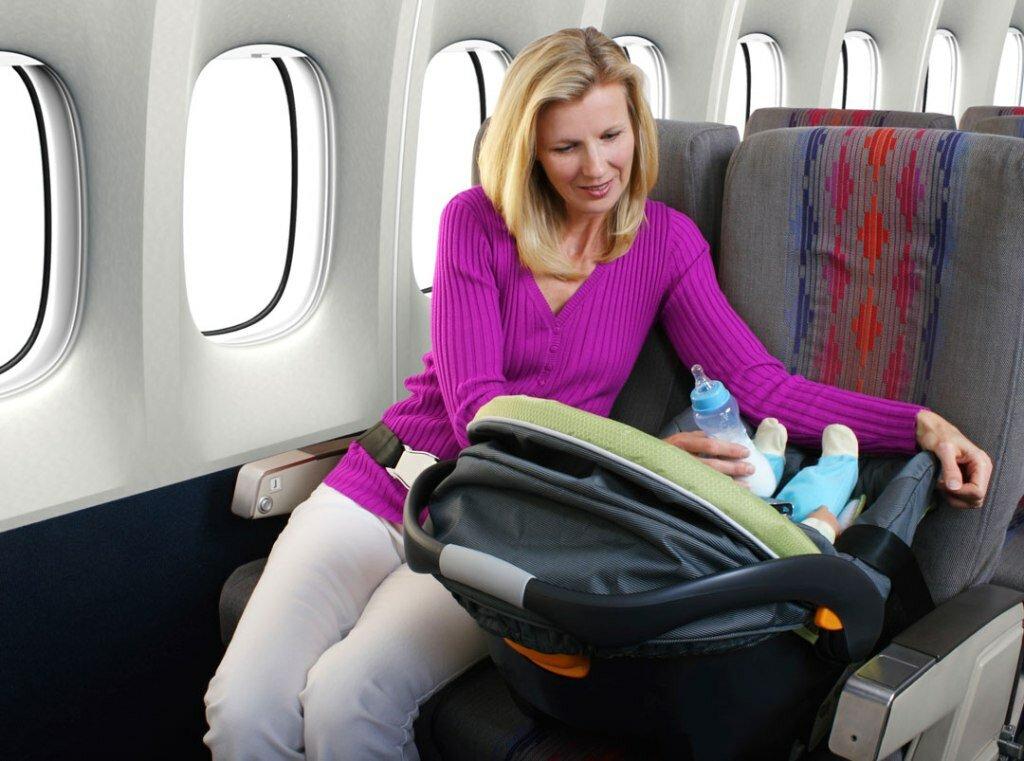 Перелет с грудным ребенком: что нужно знать