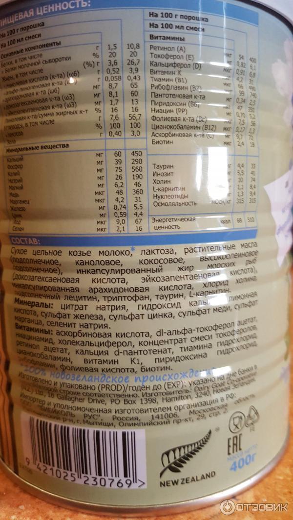Смеси на козьем молоке: список и цены, рейтинг товаров - какие самые лучшие для новорожденных, как выбрать подходящий молочный продукт, как на него перейти?