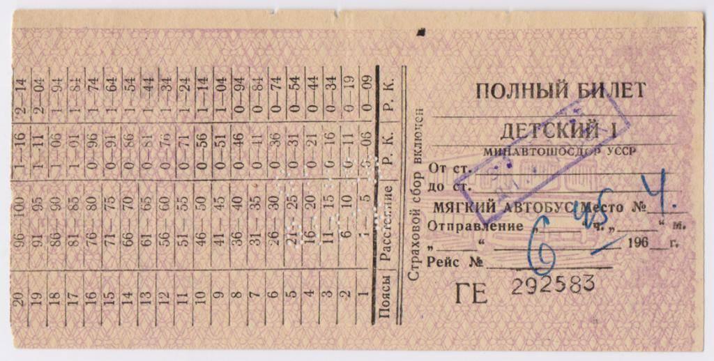 Со скольки лет покупать билет на поезд ребенку