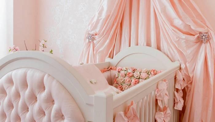 Как сшить балдахин на детскую кроватку быстро и просто: фото пошагово | своими руками