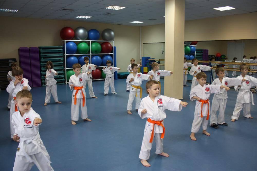 Детские секции в москве