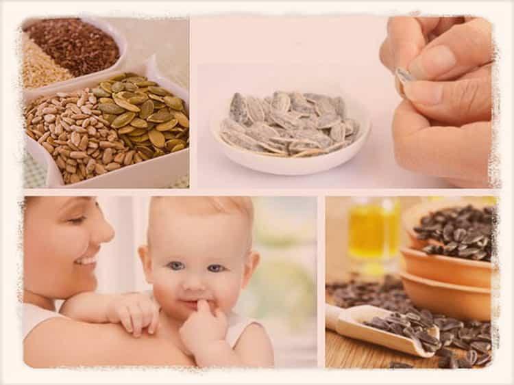 Можно ли кормящим мамам семечки: польза и вред популярного продукта
