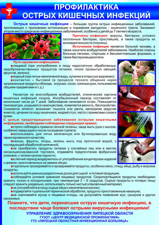 Кишечная инфекция: симптомы и лечение у детей