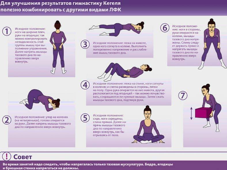 Упражнения кегеля для беременных – полезные свойства комплекса