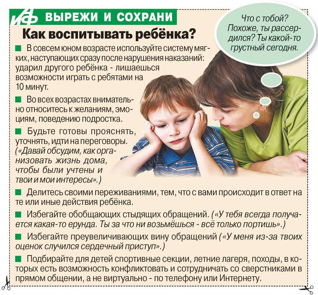 Гиперактивный ребенок что делать советы