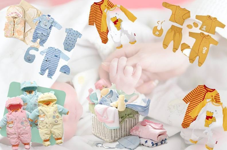 Первые вещи для новорождённого зимой