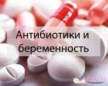 Через сколько после антибиотиков можно беременеть