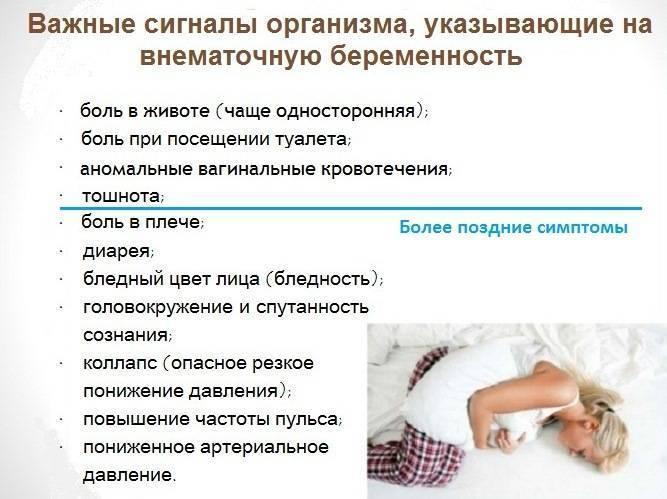 Признаки беременности по неделям