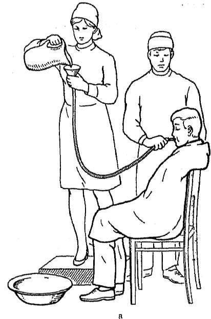 Промывание желудка у детей