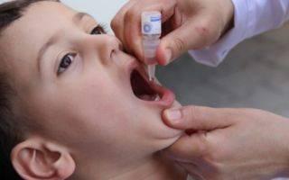 Осложнения после прививки от полиомиелита