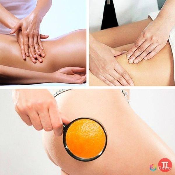 Антицеллюлитный массаж сухой щеткой: отзывы