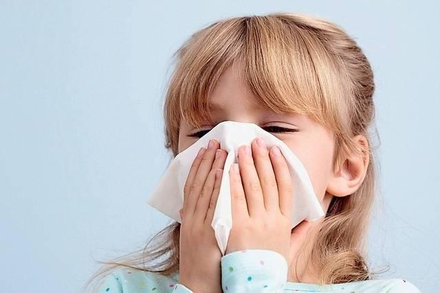 Аллергический насморк (ринит) у ребенка