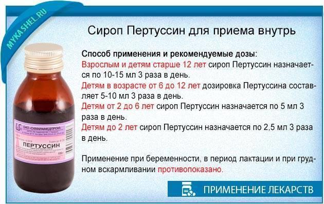 Пертуссин: инструкция по применению для детей (сироп и таблетки от кашля)