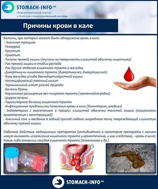 Запор с кровью у детей. причины появления крови и слизи в кале у ребенка — почему появляются выделения из заднего прохода при дефекации