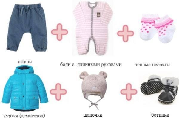 Как одеть ребенка по погоде для прогулки на улице