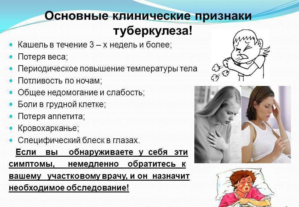 Туберкулез: симптомы, первые признаки у детей - подробная информация