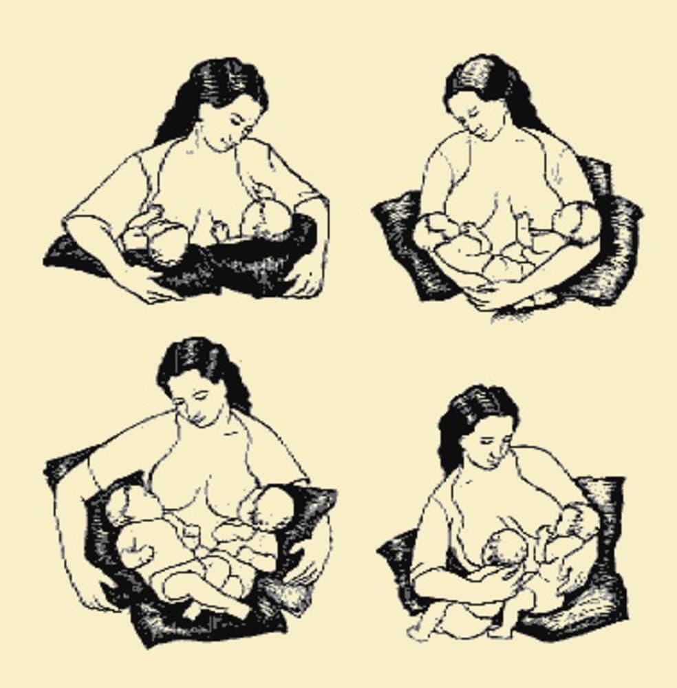 Кормление ребенка лежа: способы и позы для грудного вскармливания