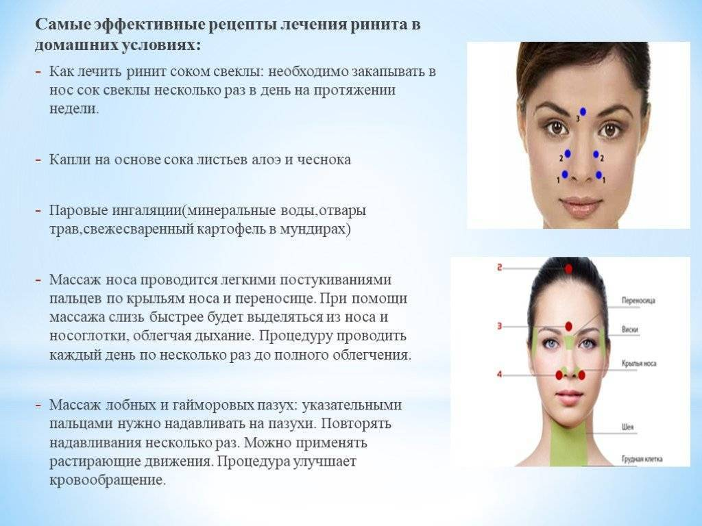 Эффективные народные средства от заложенности носа