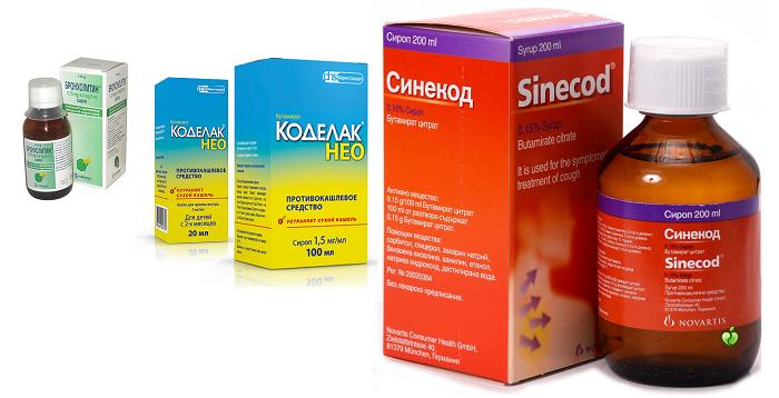 Противокашлевые средства для детей и взрослых. при сухом и влажном