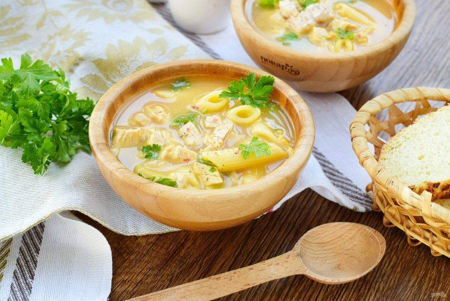 Молочная вермишель: рецепт для детей - варим суп-лапшу на молоке