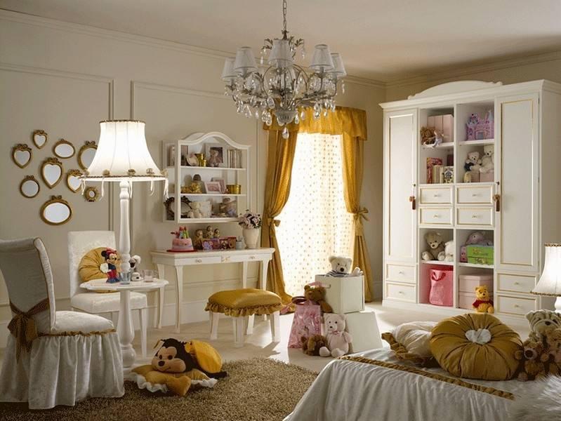 Детская комната в стиле прованс для девочек и мальчиков