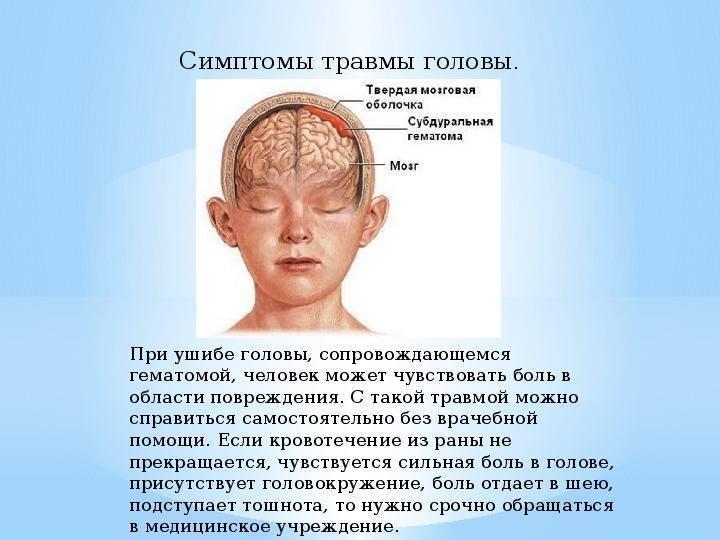 Ребенок упал и сильно ударился головой об пол, угол или кровать: что делать