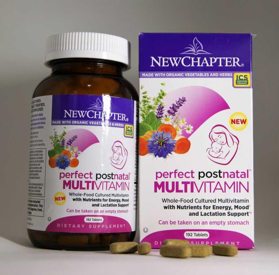Витамины после родов для восстановления: какие витаминные комплексы лучше пить?