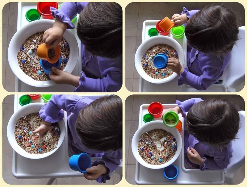 Развитие малыша. волшебная крупа: занятия с крупой для развития моторики рук