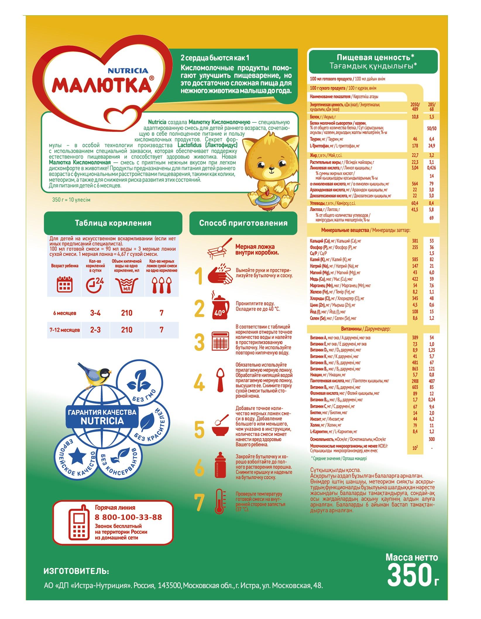 Как выбрать детскую смесь от 0 до 6 месяцев для питания новорожденного