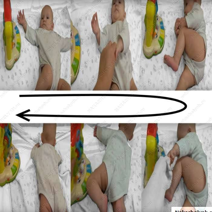 Как научить ребенка переворачиваться – на бэби.ру!