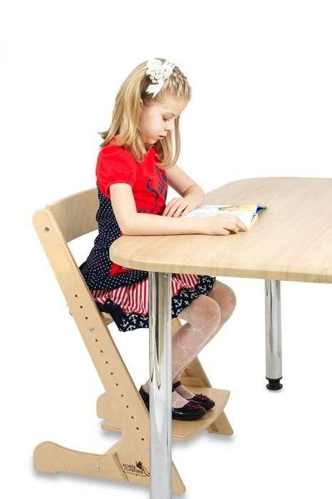 Стул для школьника, регулируемый по высоте, для осанки (40 фото)