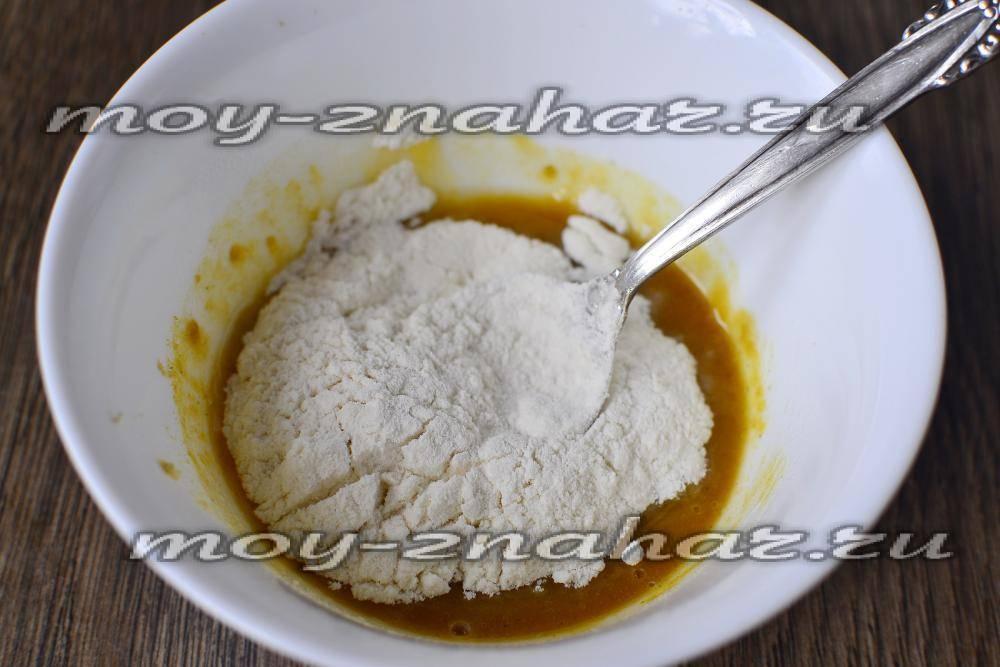 Лепешка от кашля с горчицей и мукой