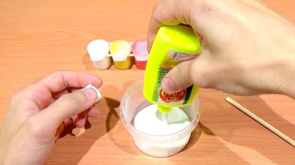 Самые простые и проверенные рецепты, как сделать лизуна в домашних условиях