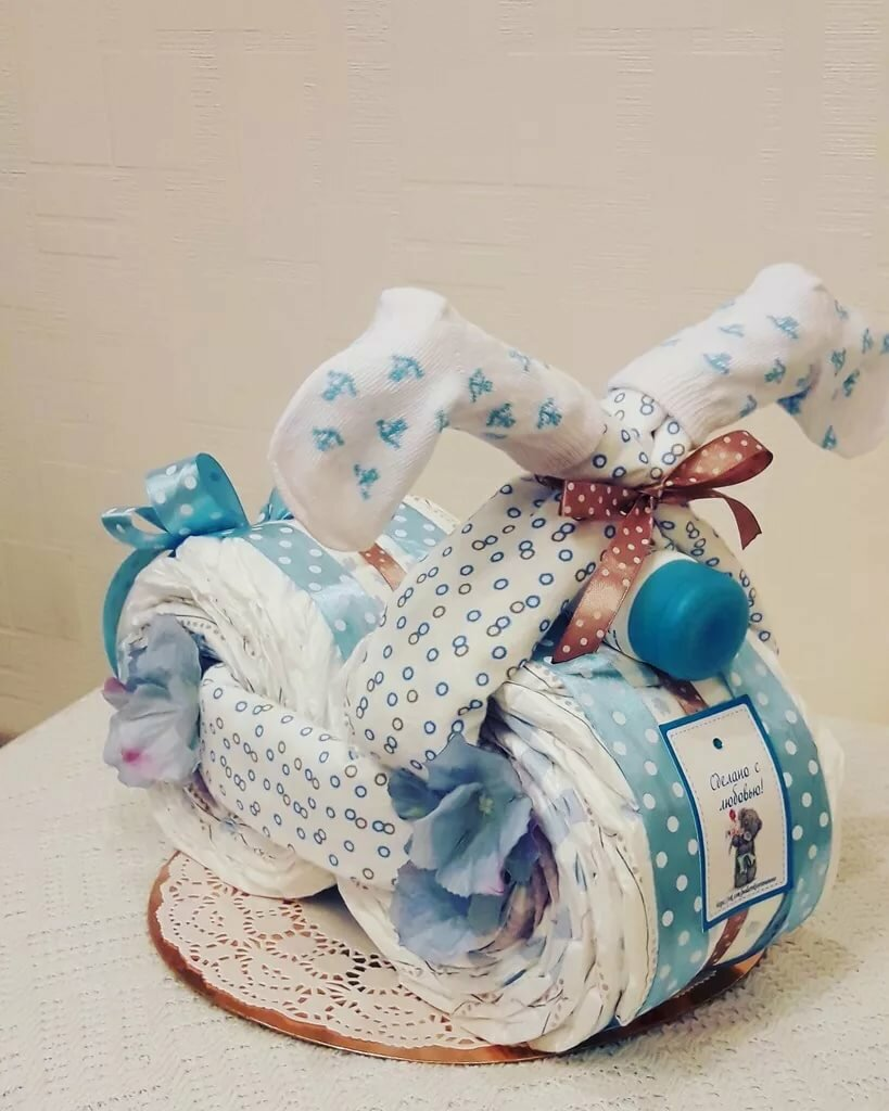 15 идей подарков для новорожденного мальчика своими руками