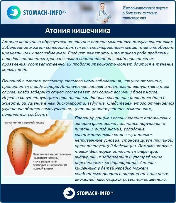 Дискинезия кишечника у взрослых и детей: виды, причины возникновения, симптомы, диагностика, лечение и профилактика + фото