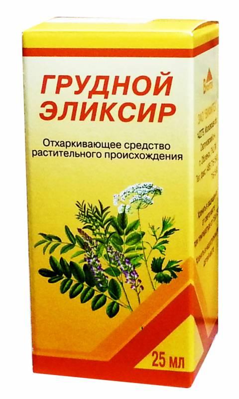 Грудной эликсир от кашля – инструкция по применению