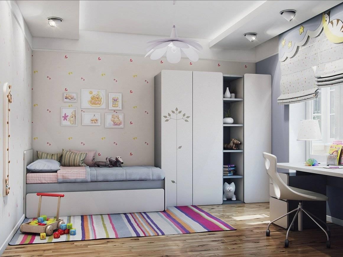 Рекомендации по оформлению дизайна детских комнат площадью 9 кв м