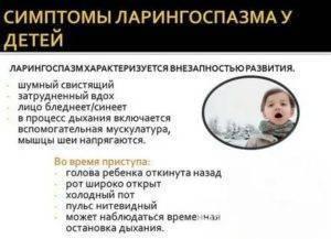 Ларингоспазм у детей: причины, симптомы, лечение. неотложная помощь при ларингоспазме – действия для облегчения состояния меры если начался ларингоспазм у ребенка