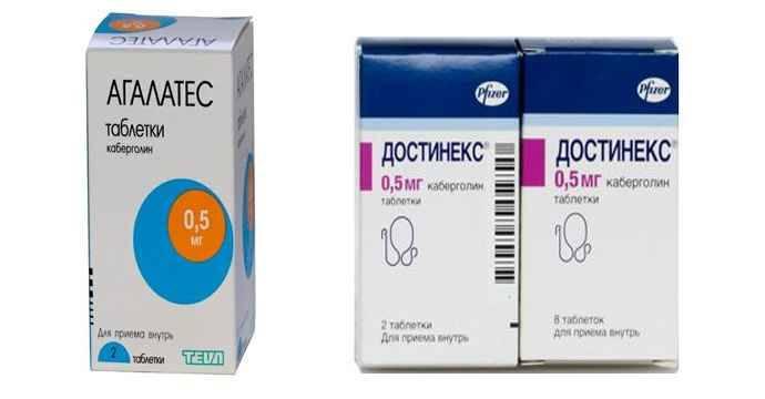 Таблетки для прекращения лактации: отзывы, цена, инструкция по применению