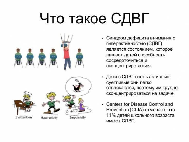 Признаки синдрома дефицита внимания и гиперактивности у взрослых и детей: сдвг