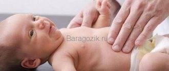 Почему грудной ребенок чешет уши | медик03