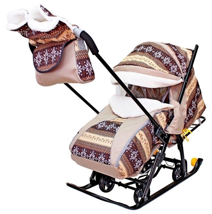 Лучшие детские санки-коляски