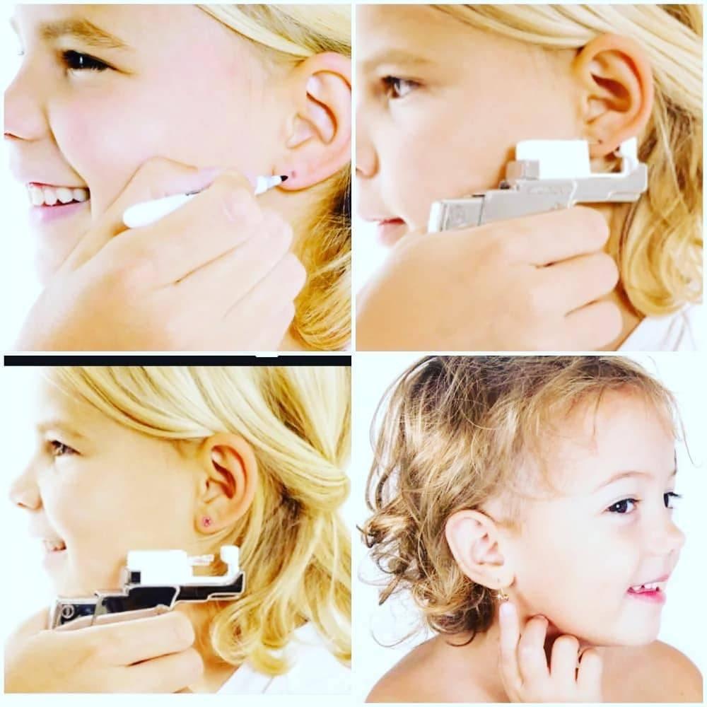 Обработка ушей после прокалывания: как, чем и когда